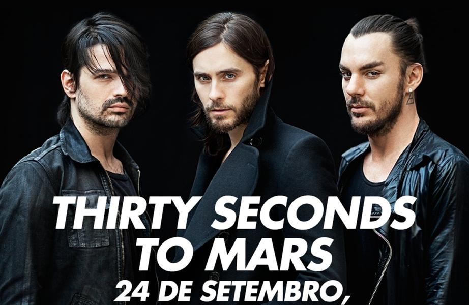 30 Seconds to Mars anuncia que tocará no Rock in Rio!