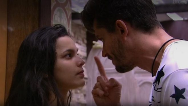 Emily e marcos bbb17