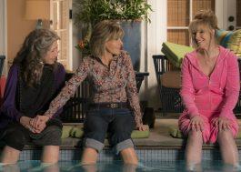 """""""Grace & Frankie"""" é renovada para 4ª temporada e Lisa Kudrow entra para o elenco"""