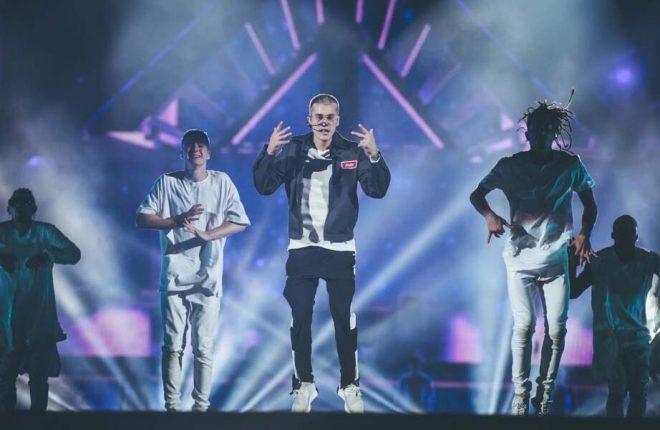 Justin Bieber SP Purpose Tour - Camila Cara 2