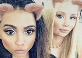 A Anitta e a Iggy Azalea estão bem migas usando filtros do Snapchat