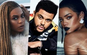 Beyoncé, The Weeknd, Rihanna e mais são indicados ao Billboard Music Awards 2017