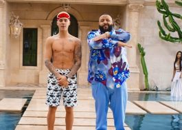 "DJ Khaled dá festinha com Bieber, Lil Wayne e Chance The Rapper no clipe ""I'm the One"""