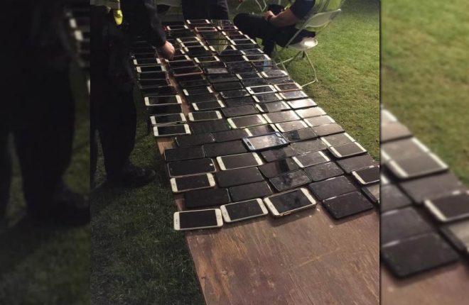 coachella celulares roubados