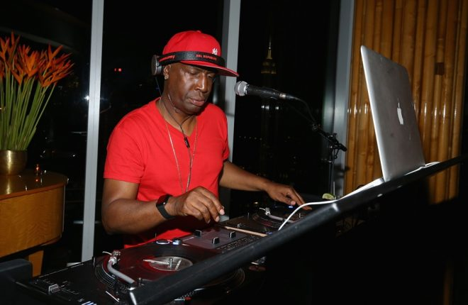 "NEW YORK, NY - JUNE 22:  Hip hop artist Grandmaster Flash performs during the season three premiere of ""Power"" afterparty at The Standard Hotel on June 22, 2016 in New York City.  (Photo by Paul Zimmerman/Getty Images for DuJour)"