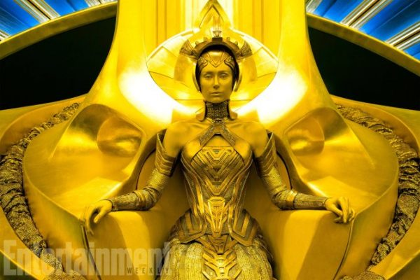 Guardians Of The Galaxy Vol. 2 Ayesha (Elizabeth Debicki) Ph: Chuck Zlotnick ©Marvel Studios 2017