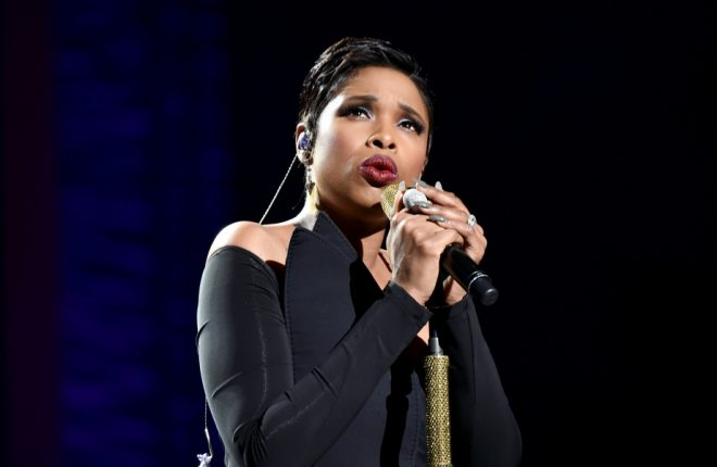 "NEW YORK, NY - APRIL 19:  Jennifer Hudson performs onstage during the ""Clive Davis: The Soundtrack of Our Lives"" Premiere Concert during the 2017 Tribeca Film Festival at Radio City Music Hall on April 19, 2017 in New York City.  (Photo by Theo Wargo/Getty Images for Tribeca Film Festival)"