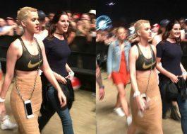 Katy Perry e Lana Del Rey bem migas curtindo o segundo dia de Coachella