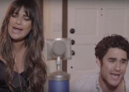 Lea Michele publica vídeos cantando com o Darren Criss! <3