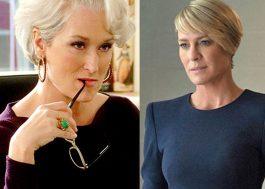 """Meryl Streep e Robin Wright vêm ao Brasil para falar de poder feminino (e exibir """"House of Cards""""!)"""
