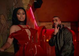 """Nicki Minaj faz a rainha em London no clipe de """"No Frauds"""", com Drake e Lil Wayne"""