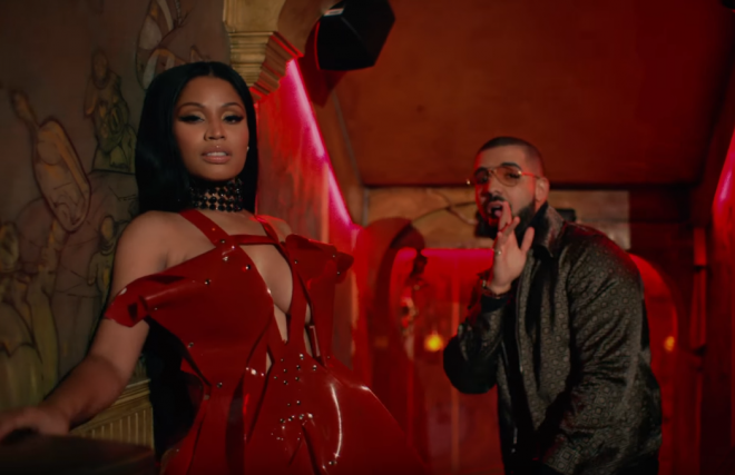nicki minaj e drake no frauds