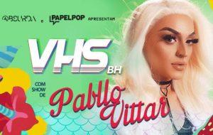 Pabllo Vittar faz show na VHS (de ingressos esgotadíssimos) sábado em BH!