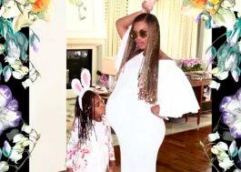 Beyoncé faz slideshow toda mãezona para mostrar como foi a Páscoa com a família