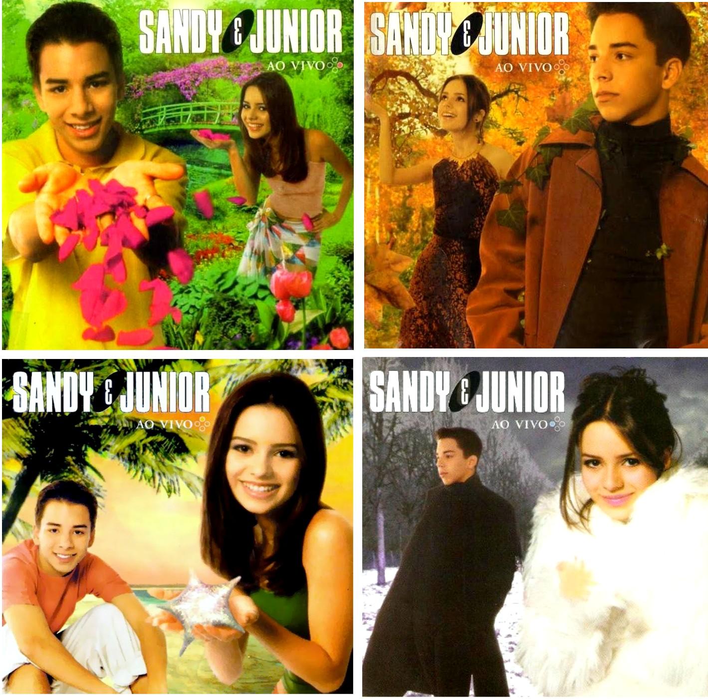 quatro estações sandy junior capa