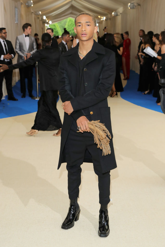 """attends the """"Rei Kawakubo/Comme des Garcons: Art Of The In-Between"""" Costume Institute Gala at Metropolitan Museum of Art on May 1, 2017 in New York City."""