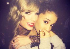 Ariana Grande volta para os EUA com jatinho de Taylor Swift, diz Daily Mail