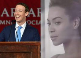 """Parece que o Mark Zuckerberg acha que """"Halo"""" é a melhor música da Beyoncé"""
