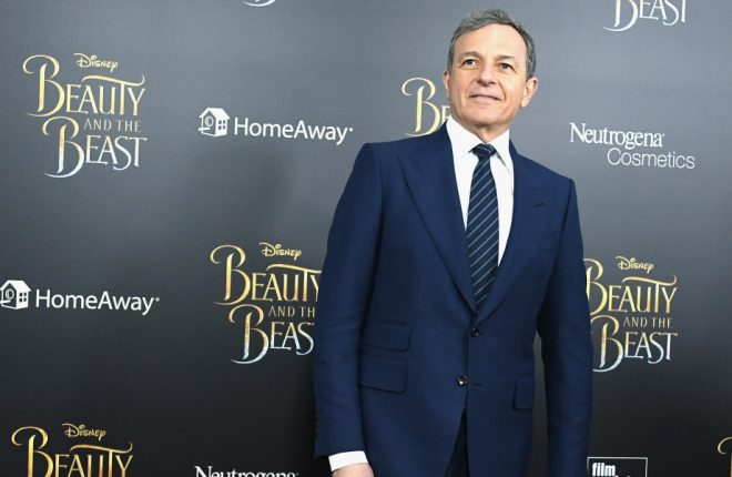 "NEW YORK, NY - MARCH 13:  CEO of the Walt Disney Company, Bob Iger attends the ""Beauty And The Beast"" New York Screening at Alice Tully Hall at Lincoln Center on March 13, 2017 in New York City.  (Photo by Mike Coppola/Getty Images)"