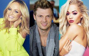 Emma Bunton, Nick Carter e Rita Ora serão jurados de programa para montar boyband