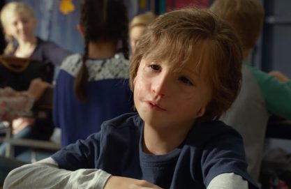 Jacob Tremblay emocionando!