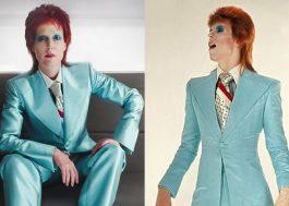 """""""American Gods"""": foto oficial mostra Gillian Anderson de David Bowie"""