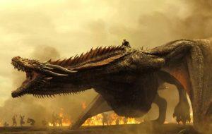 """Dragões da Daenerys estão prontos para guerra em novas imagens de """"Game of Thrones"""""""