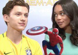 """No Brasil, Tom Holland nos diz porque este será o melhor """"Homem-Aranha"""""""