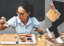 Eu Quero: essa marmita linda e superprática pra levar comida sem dor de cabeça