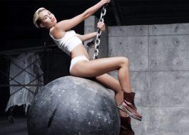 Vazam fotos de Miley Cyrus seminua mijando na rua