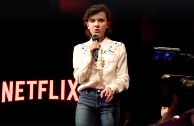 millie bobby brown comic con argentina