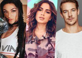 Parceria entre Pabllo Vittar e Anitta vai acontecer, e com produção do Diplo!