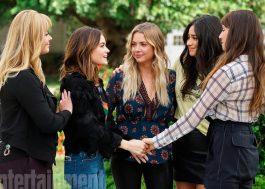 """Ansioso pelo final de """"Pretty Little Liars""""? Então cata essas fotos do series finale!"""