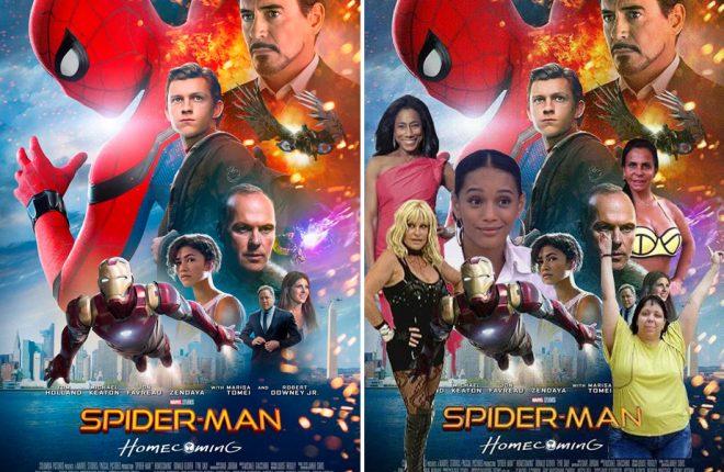 poster homem aranha destaque