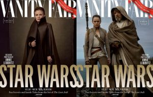 """Star Wars: Os Últimos Jedi"" ganha capas lindas na Vanity Fair"