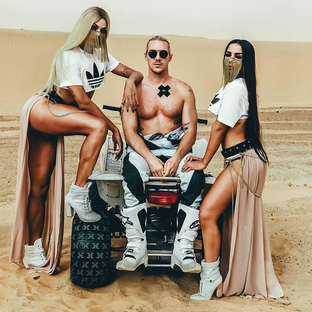 Anitta e Pabllo no Marrocos