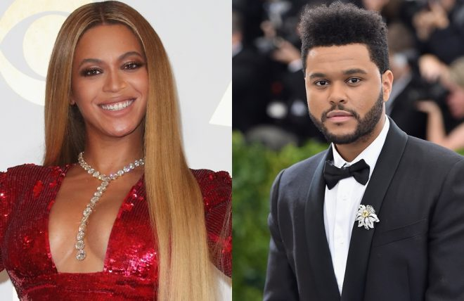 beyonce the weeknd forbes
