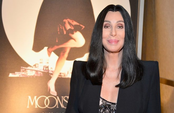"""HOLLYWOOD, CA - APRIL 24:  Actress Cher attends screening of """"Moonstruck"""" at Target Presents AFI's Night at the Movies at ArcLight Cinemas on April 24, 2013 in Hollywood, California.  (Photo by Frazer Harrison/Getty Images for AFI)"""