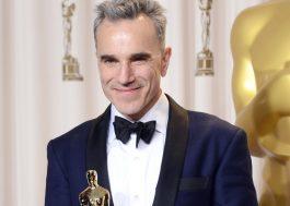 Vencedor de três Oscars, Daniel Day-Lewis anuncia aposentadoria