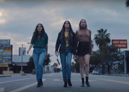 """As HAIM são as donas da rua em clipe de """"Want You Back"""""""