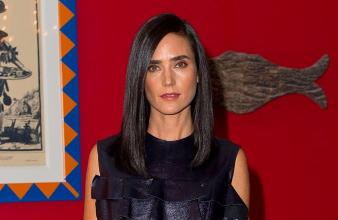 """LONDON, ENGLAND - OCTOBER 07:  Jennifer Connelly attends a photocall for """"American Pastorial"""" at the Ham Yard Hotel on October 7, 2016 in London, England.  (Photo by Ben A. Pruchnie/Getty Images)"""