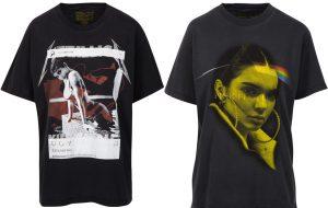 [ATUALIZADO] Kendall e Kylie colocam a própria cara em camisetas de bandas clássicas