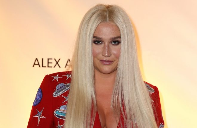 WASHINGTON, DC - JUNE 05:  Kesha attends the National Night Of Laughter And Song event hosted by David Lynch Foundation at the John F. Kennedy Center for the Performing Arts on June 5, 2017 in Washington, DC.  (Photo by Tasos Katopodis/Getty Images for David Lynch Foundation)