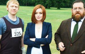 Lindsay Lohan estará com Rupert Grint em série britânica