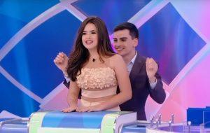 Maisa abandona programa de Silvio Santos após encontrar Dudu Camargo