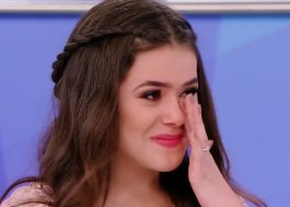 Maisa chora com homenagem de Silvio Santos