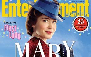 """Saíram várias imagens de """"Mary Poppins Returns""""; vem ver!"""