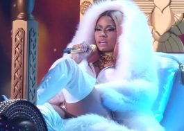 "Nicki Minaj apresenta ""Swish Swish"" ao vivo (sem Katy)"