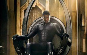 O trono do Pantera Negra tá lindo em primeiro cartaz do filme