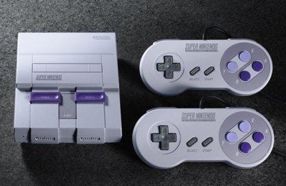 Nintendo anuncia novo SNES